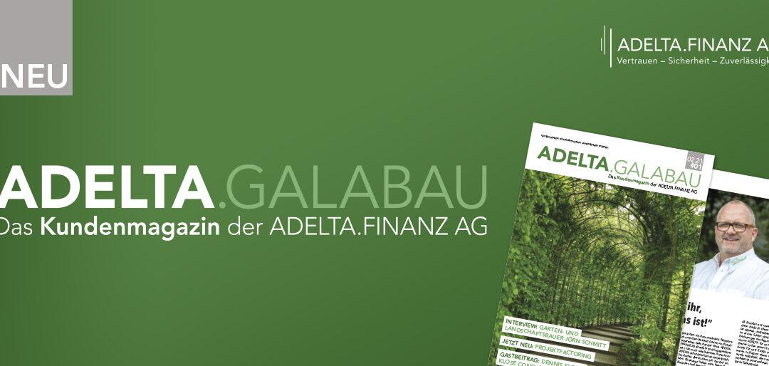 Kundenmagazin ADELTA.GaLaBau