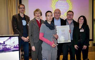 """Award """"Bestatter des Jahres 2013"""""""