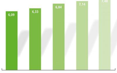 GaLaBau-Branche steigert Umsatz auf rund 7,5 Milliarden Euro