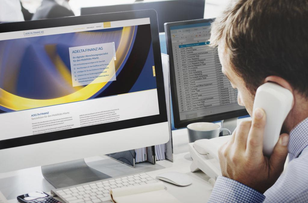 Digitale Werkstatt: Eine Branchen-Offensive der ADELTA.FINANZ AG, Bücher-EDV und DAT.