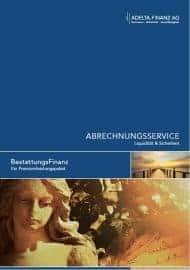 Premiumservice Factoring für Bestatter